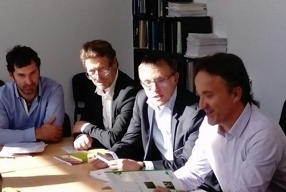 Le projet de GIS débattu avec le PDG de l'INRA à Aurillac